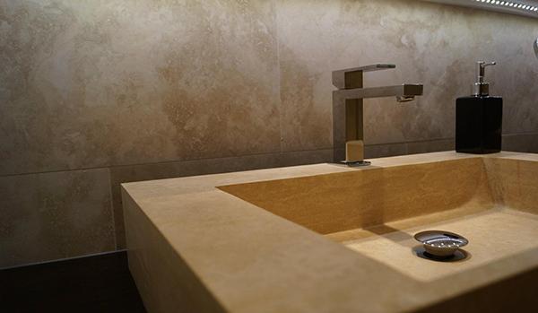 badezimmer travertin der natursteinhandel. Black Bedroom Furniture Sets. Home Design Ideas